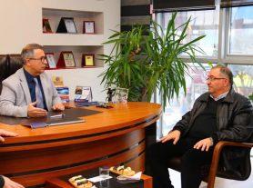 1-7 Mart Muhasebe Haftası Belediye Başkanımız Vefa Salman'ın Ziyareti