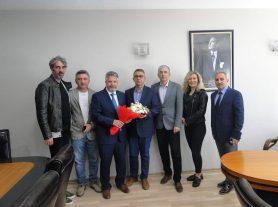 Yalova SGK Sosyal Güvenlik Haftaları kapsamında İl Müdürü Mehmet Salih AYDIN ve kurum çalışanları odamızı ziyarette bulundular. Sosyal Güvenlik Haftası Kutlu Olsun..