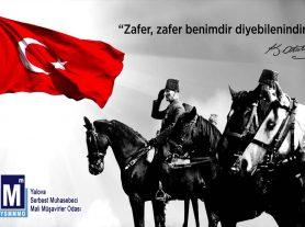Başta Gazi Mustafa Kemal Atatürk ve Silah Arkadaşları Olmak Üzere Vatan Uğruna Canlarını Feda Eden Aziz Şehitlerimizi Minnetle Anıyoruz